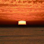 Sunset at pismo beach